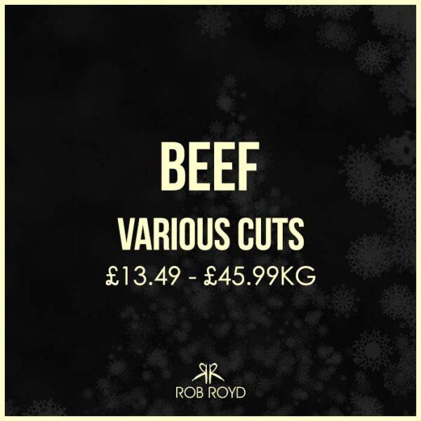 Beef All Varieties