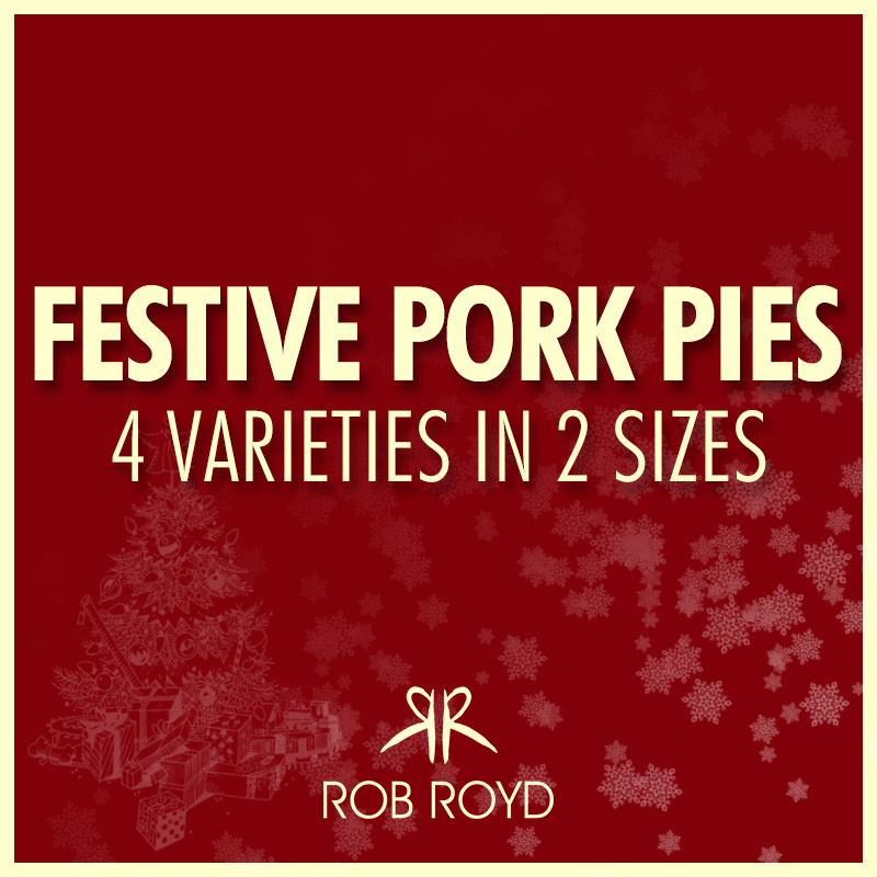 Festive Pork Pies