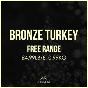 Free Range Bronze Turkey