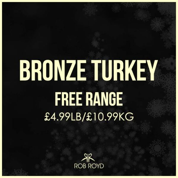 Free Range Bronze Turkey