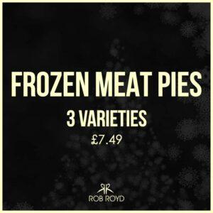 Frozen Meat Pies