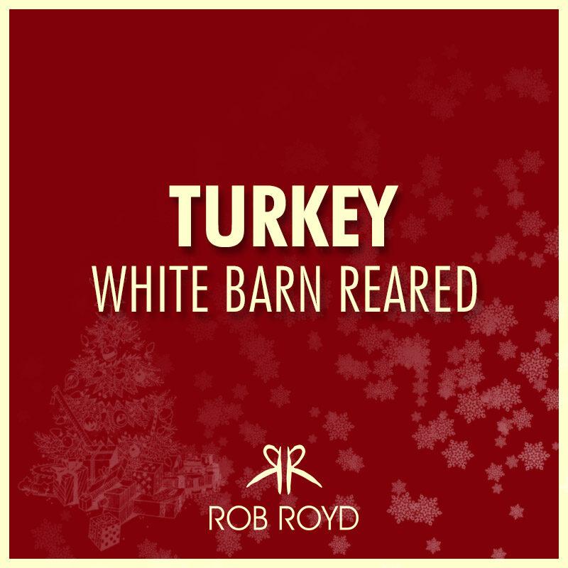 Turkey White Barn Reared