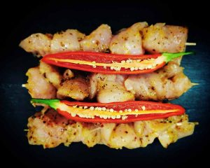 Rob Royd Farm Shop Chicken Kebabs